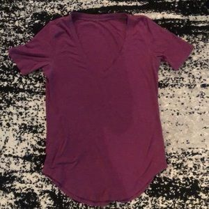 Purple Lululemon Tee
